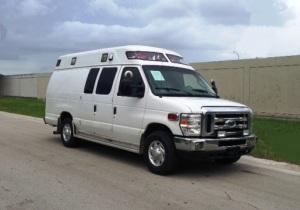 ambulancia ford turbo diesel toldo aerodimnámico