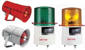 sirenas y torretas pequeñas industriales