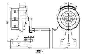 sirena manual vcl-100 para banco medidas