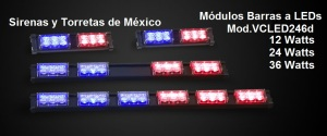 Módulos de 2,4 y 6 LEDs TNE DECK LED246D