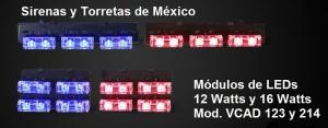 Módulos de 3 y 2 LEDs DECK AD213214D