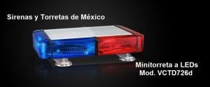 Mini Torreta VCTD726d TNE 12 LEDscmoduloALEDs726d