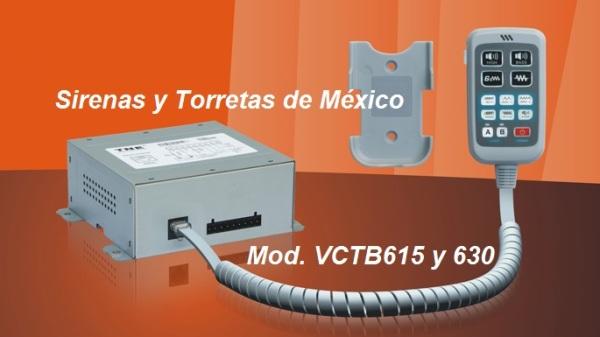Sirena TNE TB615 y TB630