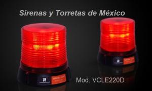 Torreta burbuja a LEDs TNE estrobo LE220D
