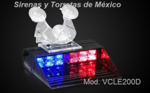Visera con 12 LEDs DECK LE200D