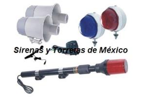con kit luces y sirena para moto fc2 8101