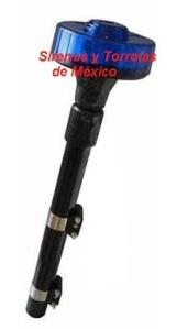 luz para moto giratoria azul sirytor motcyl013