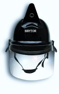casco SIRYTOR bombero Mod. Antique frente