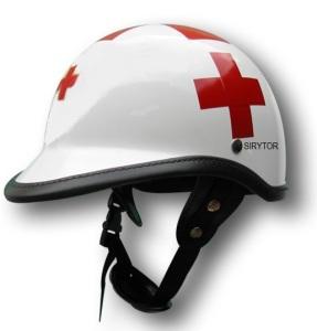 casco SIRYTOR Mod. CHIPS con visera perfil