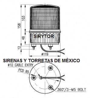 torreta-vcsl-125-medidas